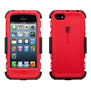 Speck ToughSkin Duo, iPhone 5/5s, Red/Black