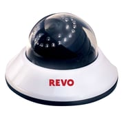 REVO™ RCDS30-2BNC 600 TVL Indoor Dome Surveillance Camera With 80' Night Vision