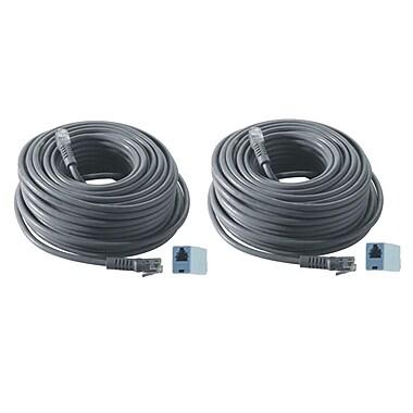 REVO™ R100RJ12C-2 100' RJ12 Cable, Black