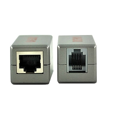 REVO™ RJ12 To RJ45 Adapter Coupler, Gray