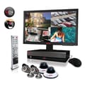 REVO™ 4CH 1TB DVR Surveillance System W/4 600TVL 80' Night Vision Cameras & 18 1/2in. Monitor