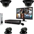 REVO™ 4CH 1TB DVR Surveillance System W/4 700TVL 100' Night Vision Cameras & 18 1/2in. Monitor