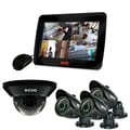 REVO™ 4CH 1TB DVR Surveillance System W/700TVL 1 Dome 3 Bullet Cameras & 10 1/2in. Built In Monitor