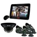 REVO™ 4CH 1TB DVR Surveillance System W/700TVL 1 Dome 3 Bullet Cameras & 10 1/2in. Built In Monitor