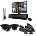 REVO™ 8CH 1TB DVR Surveillance System W/700TVL 3 Dome 3 Bullet Cameras & 18 1/2in. Monitor, Black