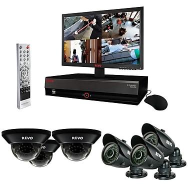 REVO™ 8CH 1TB DVR Surveillance System W/700TVL 3 Dome 3 Bullet Cameras & 18 1/2