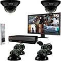 REVO™ 8CH 2TB DVR Surveillance System W/6 700TVL 100' Night Vision Cameras & 21 1/2in. Monitor, Black