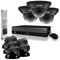 REVO™ 16CH 3TB DVR Surveillance System W/8 700TVL Quick Connect Cameras, Black