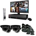REVO™ 16CH 3TB DVR Surveillance System W/8 100' 700TVL Night Vision Cameras & 21 1/2in. Monitor, Black