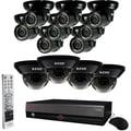 REVO™ 16CH 3TB DVR Surveillance System W/12 700 TVL 100' Night Vision Cameras