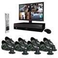 REVO™ 16CH 4TB DVR Surveillance System W/8 Night Vision Bullet Cameras