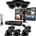 REVO™ 16CH 3TB DVR Surveillance System W/8 700TVL 100' Night Vision Cameras & 23in. Monitor, Black