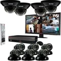 REVO™ 16CH 4TB DVR Surveillance System W/10 700TVL 100' Night Vision Cameras & 23in. Monitor, Black