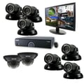 REVO™ 16CH 960H 2TB DVR Surveillance System W/8 700TVL Night Vision Cameras & 21 1/2in. Monitor, Black