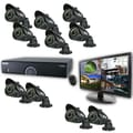 REVO™ 16CH 960H 4TB DVR Surveillance System W/10 700TVL 100' Bullet Camera & 21 1/2in.' Monitor, Black