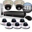 REVO™ Elite 16CH 4TB DVR Surveillance System W/6 Quick Connect Cameras & 2 Elite Dome Cameras
