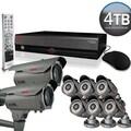 REVO™ Elite 16CH 4TB DVR Surveillance System W/6 Quick Connect Cameras & 2 Elite Bullet Cameras