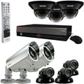 REVO™ Elite 16CH 4TB DVR Surveillance System W/Quick Connect Cameras & Bullet Cameras, White/Black