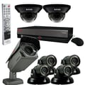 REVO™ Elite 16CH 4TB DVR Surveillance System W/6 Quick Connect Cameras & 1 Elite Camera, Gray/Black