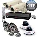 REVO™ Elite 16CH 4TB DVR Surveillance System W/6 Quick Connect Cameras & 2 Elite OTDR Box Cameras