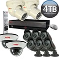 REVO™ Elite 16CH 4TB DVR Surveillance System W/8 Quick Connect Cameras & 2 Elite Turret Cameras