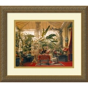 "Amanti Art ""Veranda de la Princesse Mathilde (Veranda of the Mathilde Princess)"" Framed Art by Charles Giraud"