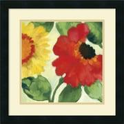 "Amanti Art ""Anemone Garden III"" Framed Art by Kim Parker"