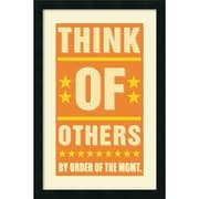 Amanti Art Think of Others Framed Art by John W. Golden