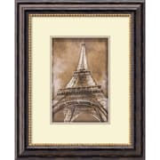 "Amanti Art ""Eiffel Tower"" Framed Art by Erin Clark"
