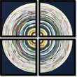Amanti Art in.Target 1 Quad - Set of 2in. Framed Art by Nino Mustica
