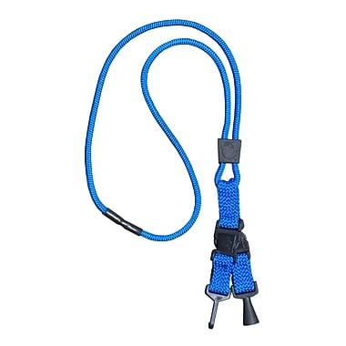 EK 10422C-C23 Hold It Credential Pen Lanyard, Blue