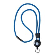 EK 10449C-C23 Retract-A-Cat Lanyard with Key Ring, Blue