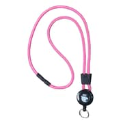 EK 10449C-C103 Retract-A-Cat Lanyard with Key Ring, Pink