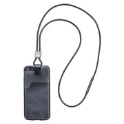 EK Leather Retention Case For iPhone 5/5S, Black