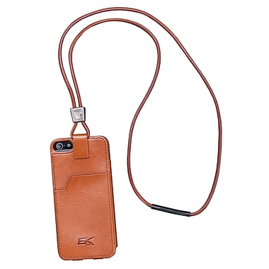 EK Leather Retention Case For iPhone 5/5S, Tan