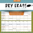 TF Publishing in.Dry Erasein. 2015 Wall Calendar
