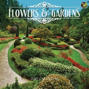 TF Publishing Flowers & Gardens 2015 Wall Calendar