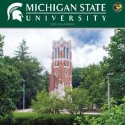 TF Publishing Michigan State University 2015 Wall Calendar