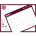 TF Publishing in.Texas A&M Universityin. 2015 16 Month Desk Blotter