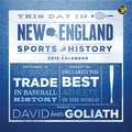 TF Publishing in.This Day In New England Sports Historyin. 2015 Wall Calendar