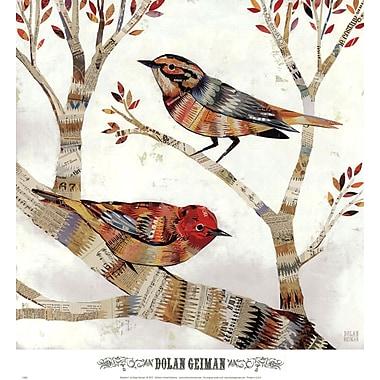 Evive Designs Warblers I by Dolan Geiman Painting Print