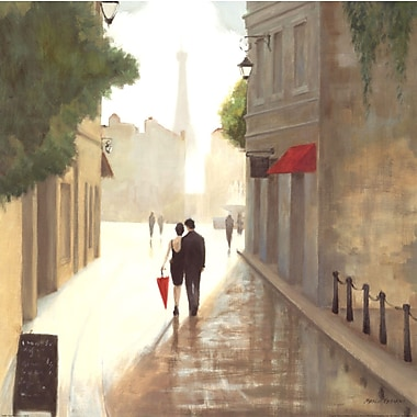 Evive Designs 'Paris Romance I' by Marco Fabiano Painting Print