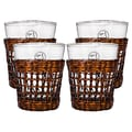 Global Amici Bali Double Old Fashioned Glass (Set of 4)