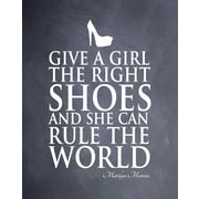 Evive Designs 'Give a Girl' by Susan Newberry Textual Art