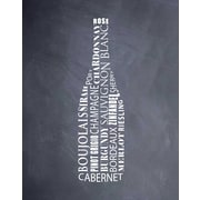 Evive Designs 'Wine Bottle (chalkboard)' by Susan Newberry Textual Art