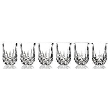Lorren Home Trends Opera RCR Shot Glass (Set of 6)
