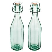 Global Amici Large Faceted Bottle (Set of 2)