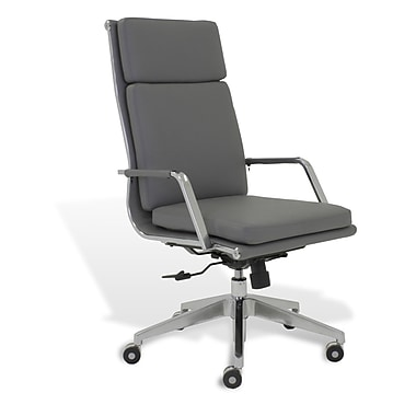 Jesper Office Berg High Back Conference Chair; Grey