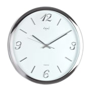 Opal Luxury Time Products 15'' Designer Wall Clock with Raised Dial