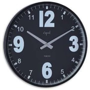 Opal Luxury Time Products 15'' Steel Case Stylish Wall Clock